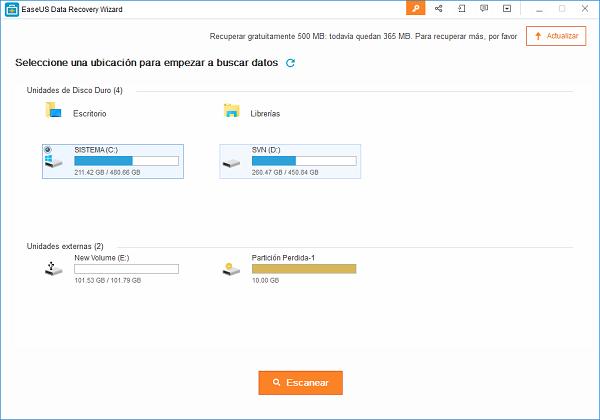 como recuperar archivos borrados de la pc windows xp