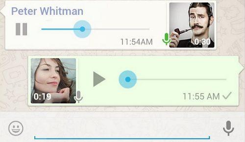 Como recuperar audios de WhatsApp