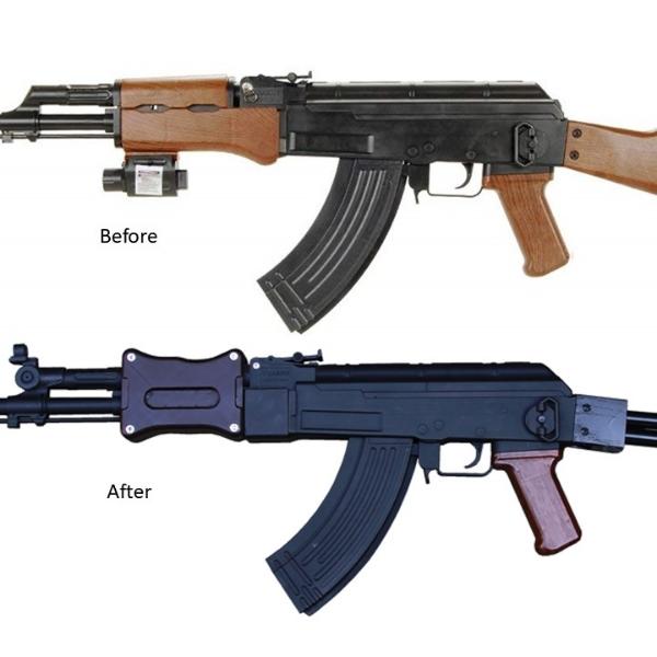 rifle de asalto xuanlong fallout 3