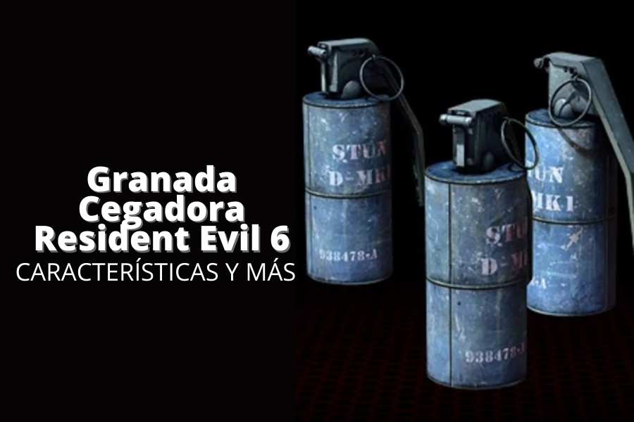 granada cegadora resident evil 6