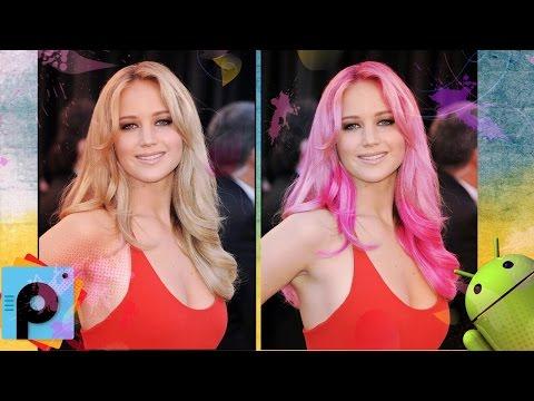 Aplikimi për ndryshimin e ngjyrës së flokëve