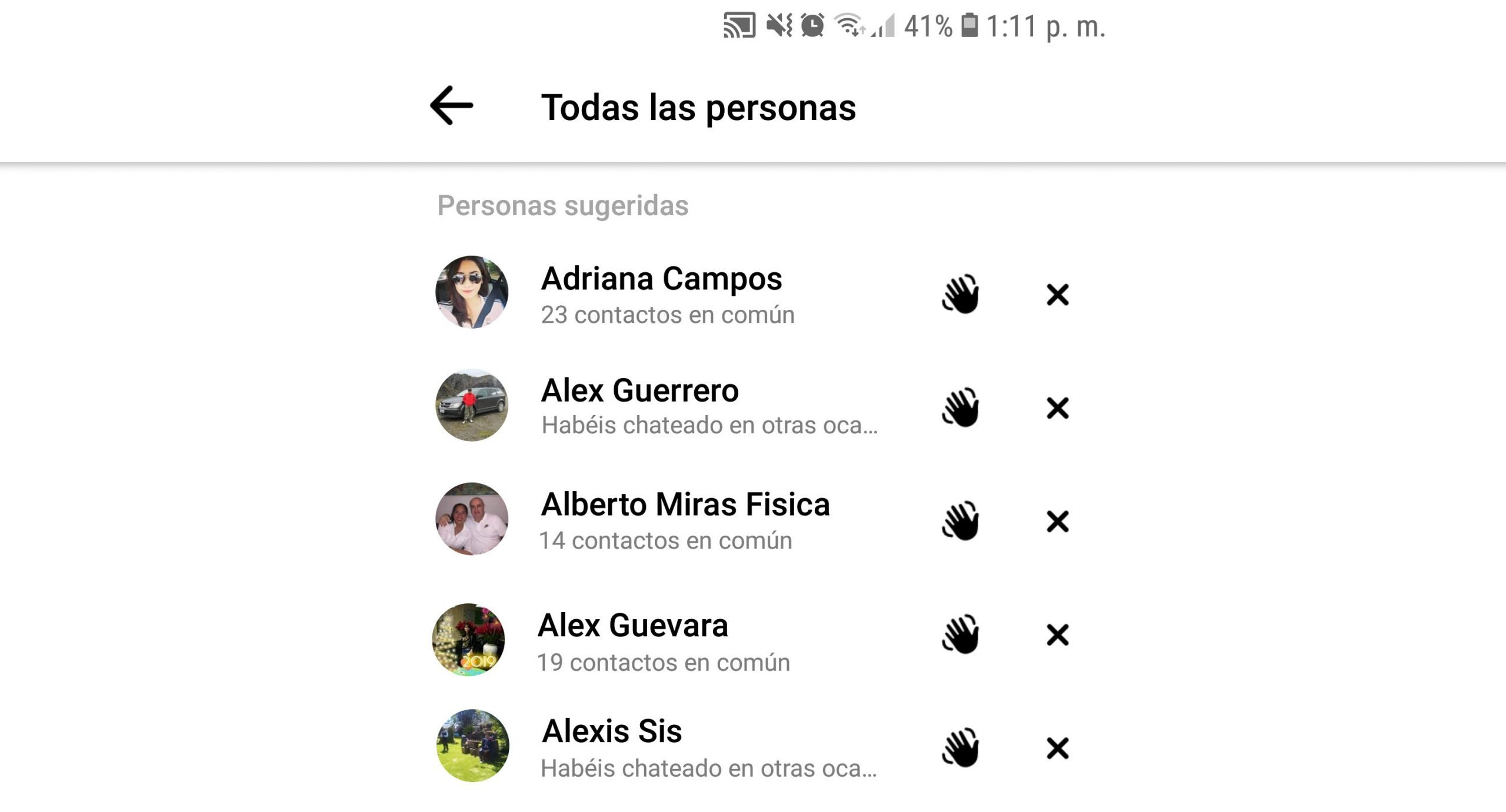 Si të fshini kërkimet në Messenger?