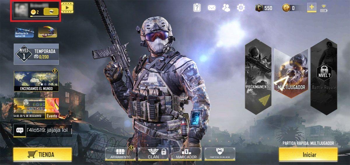 Si ta ndryshoni emrin tuaj në Call of Duty Mobile?
