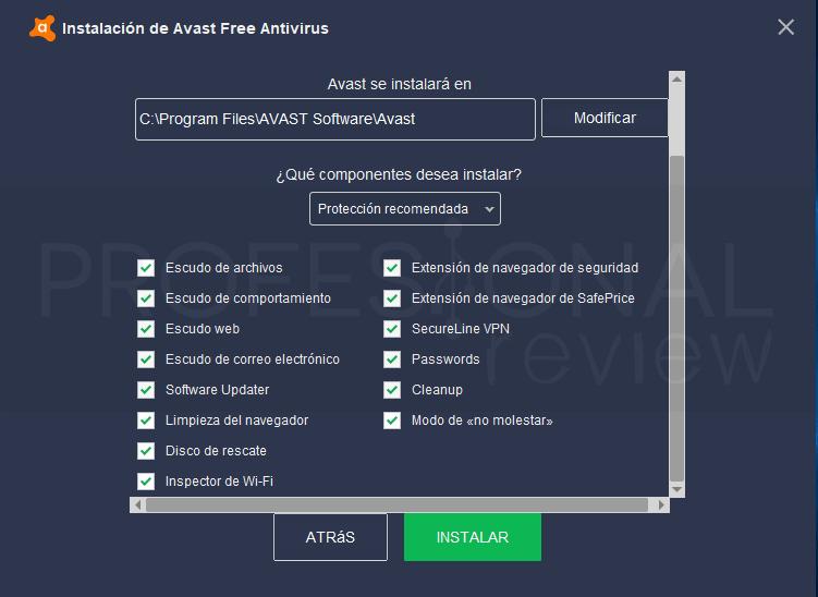 Si të konfiguroni Avast?