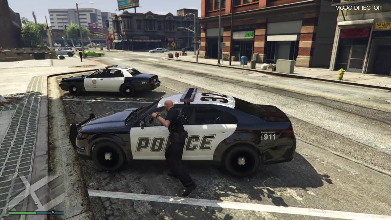 Si të bëhesh polic në GTA?