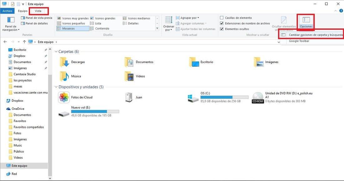 Si të krijoni dosje të fshehura në Windows 10?