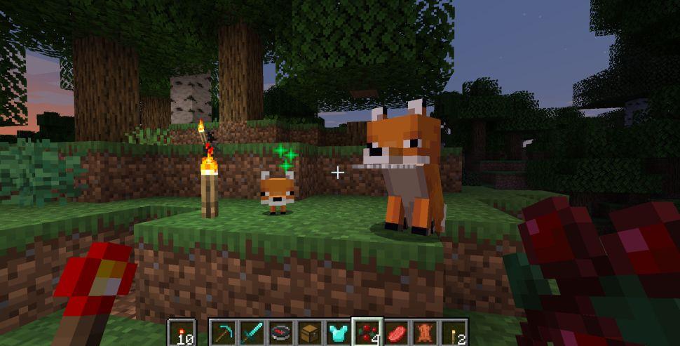 Si të zbutni një dhelpër në Minecraft?