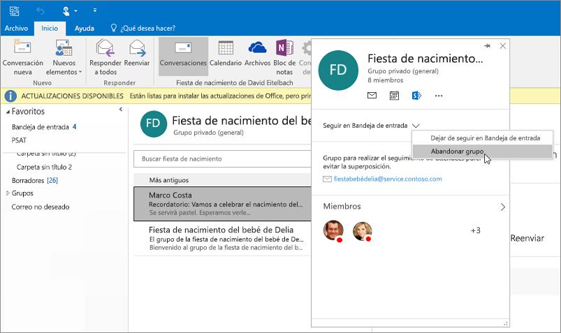 Si të dilni nga Outlook?