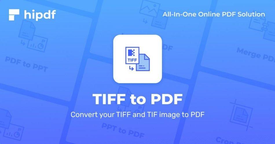 Convertir TIFF a PDF