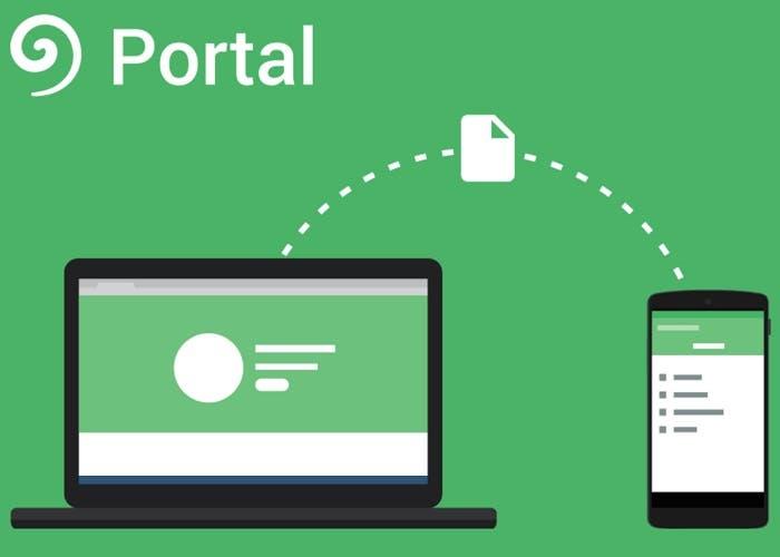 Portal, o cómo transferir archivos del ordenador al iPhone y al iPad