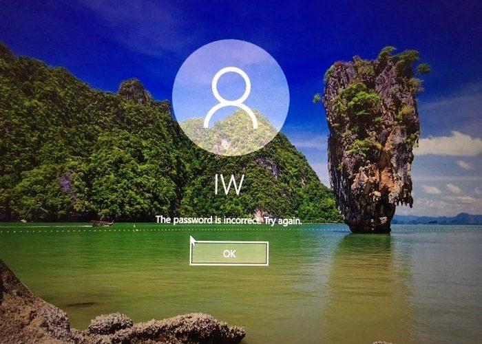 Cómo restablecer una contraseña olvidada en Windows 10