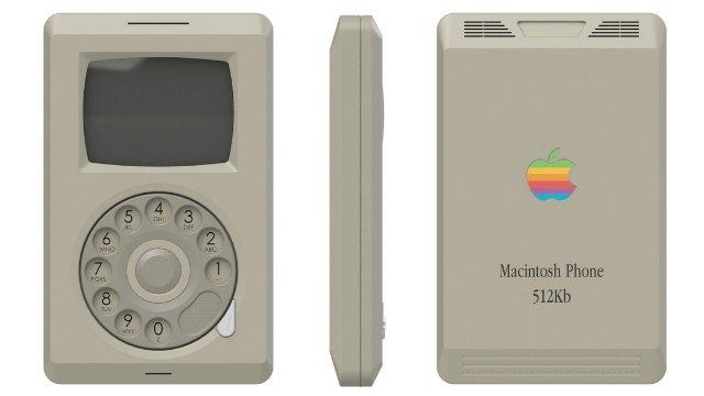 Macintosh Phone: cómo habría sido un iPhone en 1984