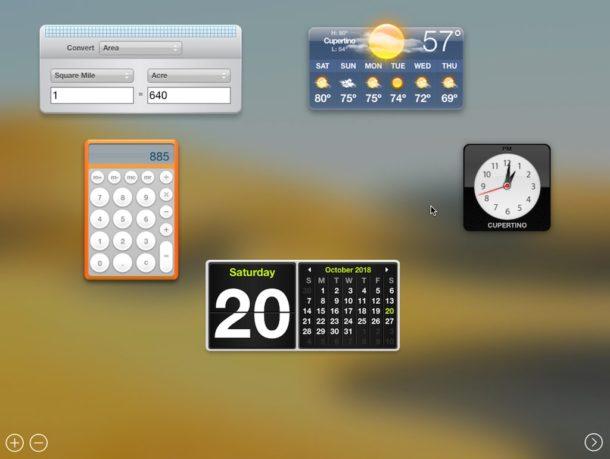 Cómo crear un widget a partir de una sección de una página web para Dashboard en Mac OS X