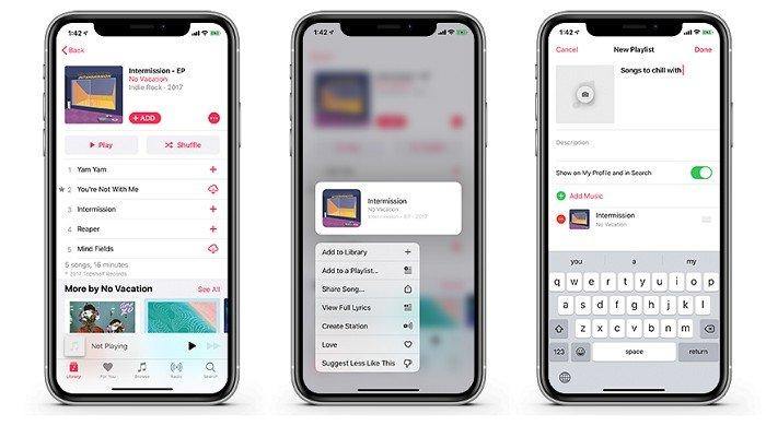 Cómo crear una lista de reproducción en tu iPhone, iPad o iPod Touch sin usar iTunes