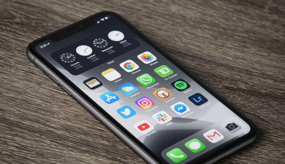Com netejar l'escriptori del teu iPhone