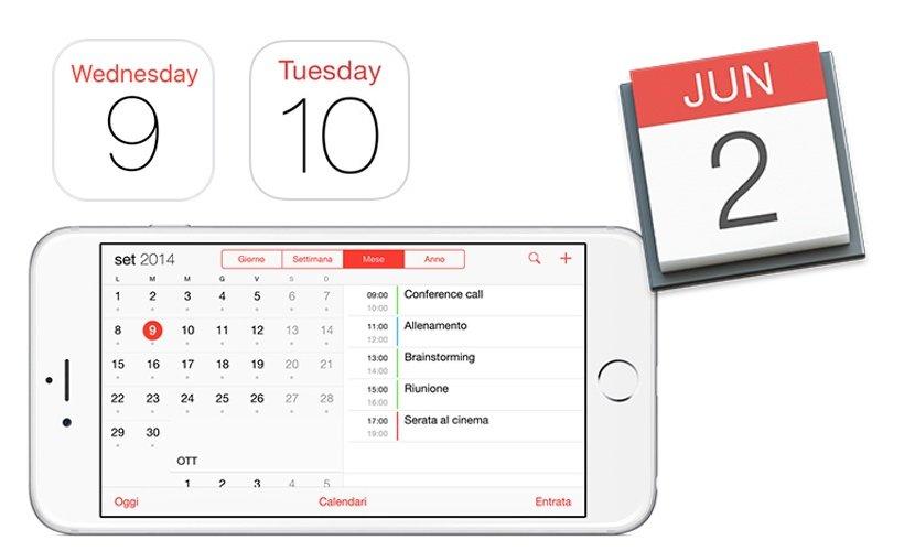¿Cómo me muevo rápidamente por la aplicación Calendario en mi iPhone o iPad?