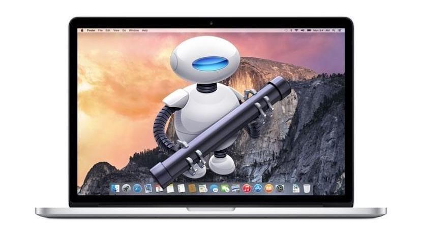 Cómo ocultar archivos del escritorio de Mac usando Automator