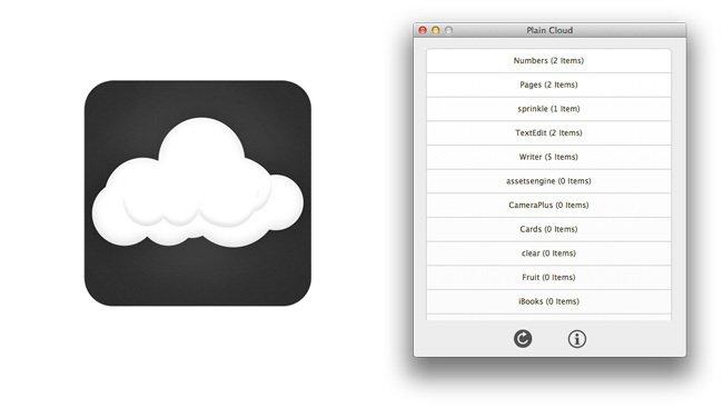 Cómo utilizar iCloud con Plain Cloud para Mac OS X