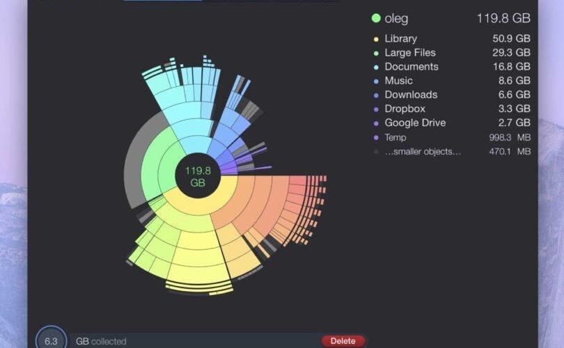 DaisyDisk o cómo saber qué está ocupando espacio en el disco de tu Mac