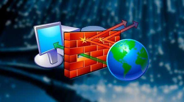 Desactivar el firewall en Windows
