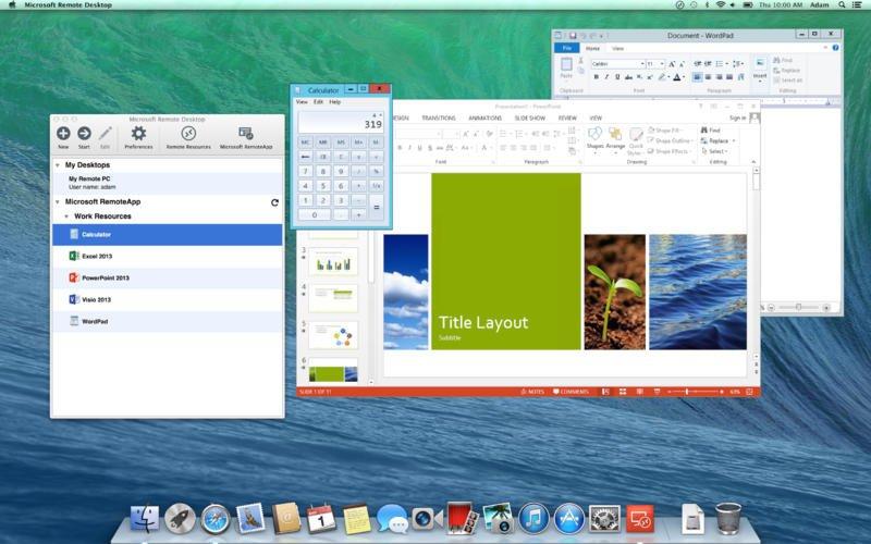 Mac remote - teléfono móvil Android como Mac remote
