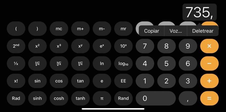 ¿Sabías cómo deshacer la última acción en la Calculadora en iOS?
