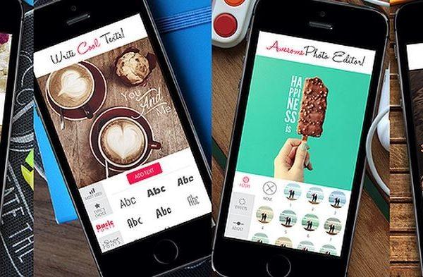 Typic o cómo aplicar texto a las fotos en un iPhone o iPad