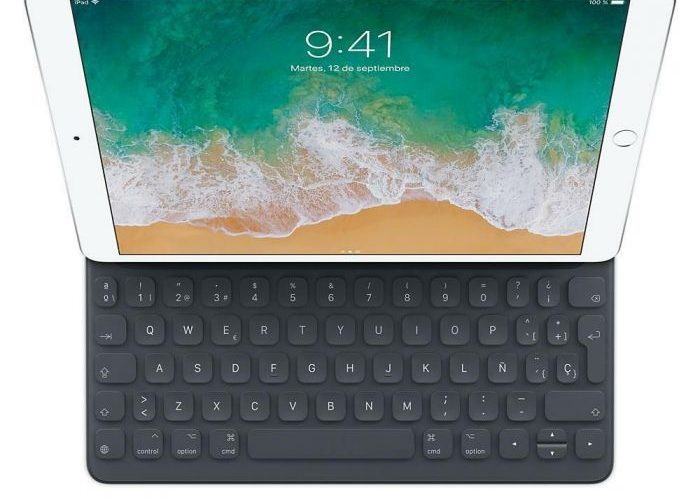 apple prepara una funda con teclado para el iPad 5, similar a las tablets Surface de Microsoft