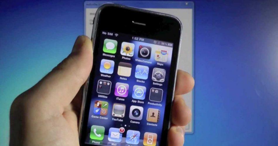 ¿Cómo desbloquear el iPhone 3G, iPhone 3GS, iPhone 4 Ultrasn0w 1.2.7?