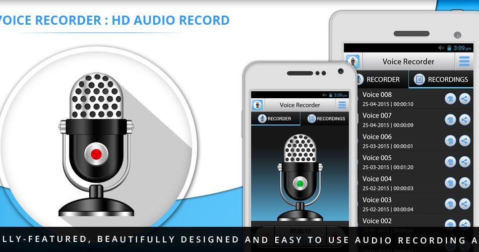 ¿Cómo puedo utilizar Voice Recorder HD para grabar mi voz en mi iPhone o iPad?