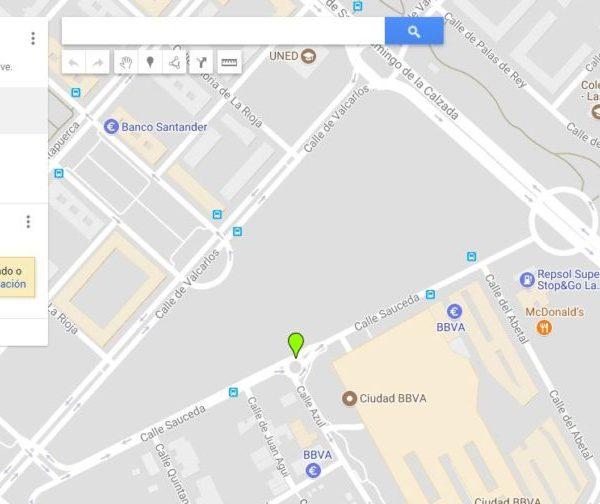 Añadir fotos a un mapa de Google