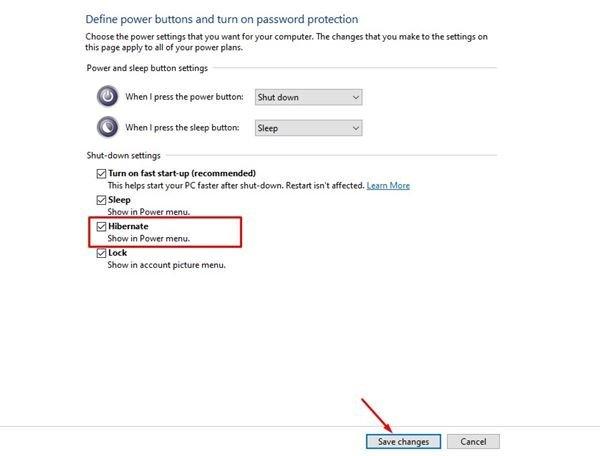Cómo activar la hibernación en Windows 11