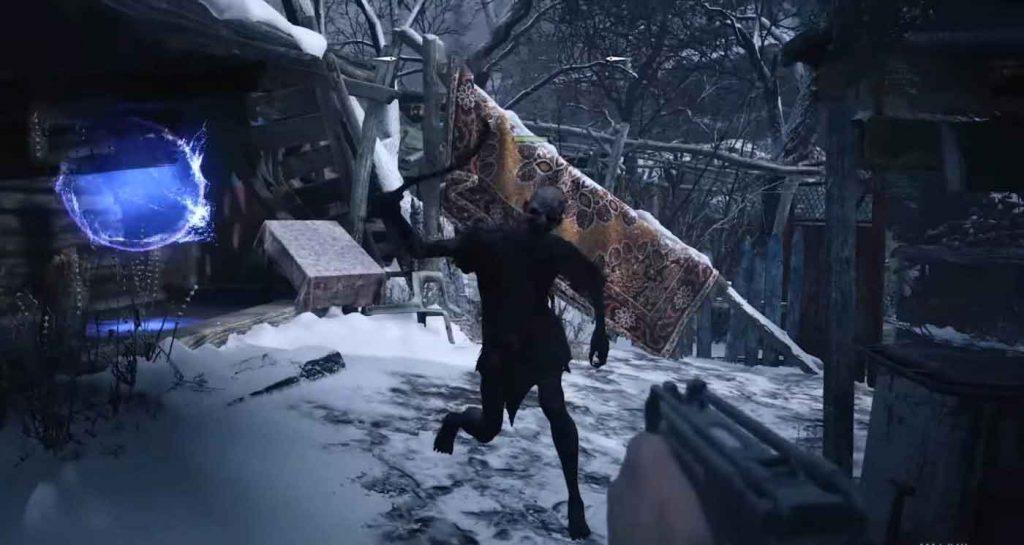jugar modo Mercenarios en Resident Evil Village