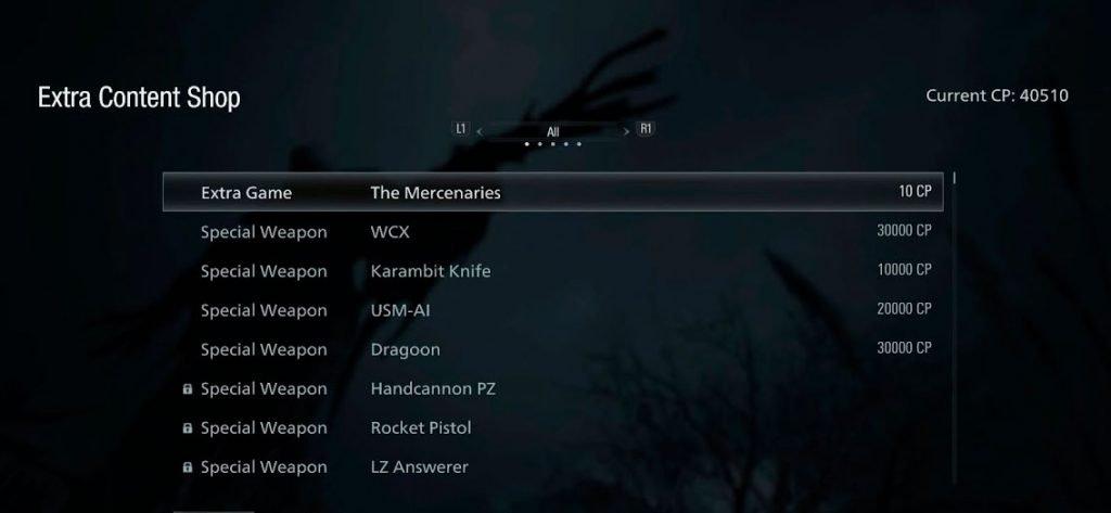 truco de munición infinita Resident Evil 8 Village